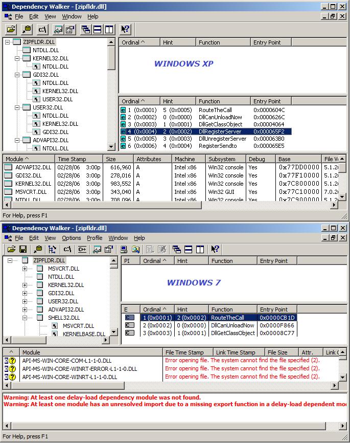 xplorer² blog: How to unregister zipfolders for windows 7/8/10